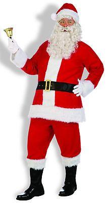 Men Costumes: Santa Claus Costume Flannel Santa Suit Standard -> BUY IT NOW ONLY: $30.98 on eBay!