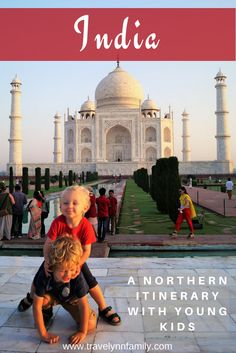 Northern India itinerary with kids - pinterest