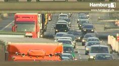 Hamburg steht vor dem Verkehrschaos