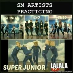 That's Super Junior for you...tho I don't know which other group I expected it from too...SM has some weird bands..