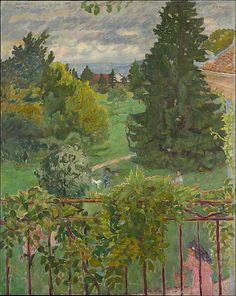 Pierre Bonnard (French, Fontenay-aux-Roses 1867–1947 Le Cannet)  From the Balcony