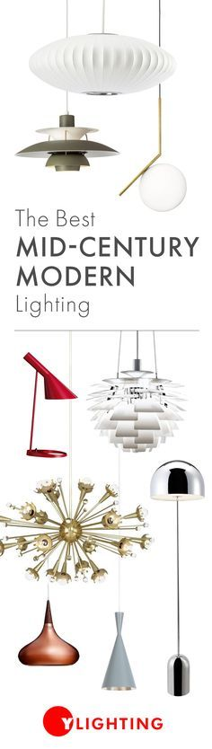 Influenced by natural forms and simple elements, our mid-century modern inspired lighting will bring honesty, utilitarianism, and minimalist qualities to any modern space. Shop Now >> http://www.ylighting.com/features/_/N-1z13z6c
