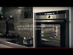 ¿Una puerta de horno que desaparece? Descubre en este video el mejor sistema de apertura de horno, que te permite cocinar sin obstáculos.