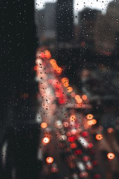 "a-whiskey-and-wisdom: ""luxuryera: "" Bokeh City Photographer: msalisbu "" Rainy day! """
