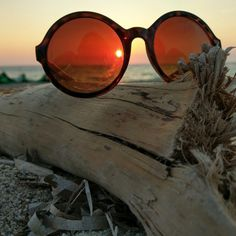Sunset Sunset, Sunglasses, Sunsets, Shades, Eyewear