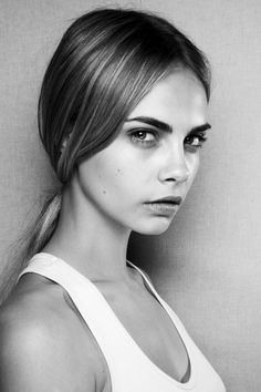 One of the most stunning faces today. CARA DELEVINGNE (Victoria's Secret)