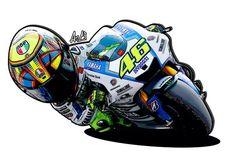 46 Yamaha - Valentino Rossi