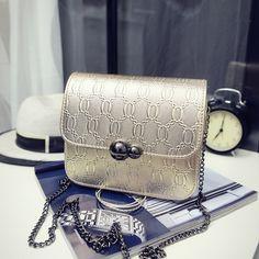 229d7d7bf940 CangToucun Summer Small Chain Leather Handbag Ladies Purse Female Bags  Women Messenger Shoulder Crossbody Bags Sac
