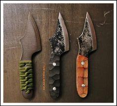 Bladetricks Light Nosaf EDC Knife, titanium & steel