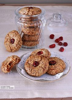 Receta de galletas de nuez sin gluten. Con fotos del paso a paso, consejos y sugerencias de degustación. Recetas sin gluten. Recetas de postres....