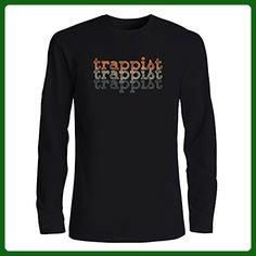 Idakoos - Trappist repeat retro - Drinks - Long Sleeve T-Shirt - Retro shirts (*Amazon Partner-Link)