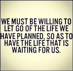 Niet plannen!