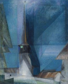 Gelmeroda :  Lyonel Feininger : Circa 1936 : Fine Art Giclee  #Cubism