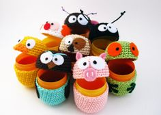 Amigurumi Eggs - @Angela Makelky