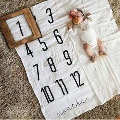 Ideas de sesion de fotos a bebés - mes a mes (25) - Curso de Organizacion del hogar y Decoracion de Interiores