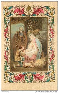 BUON NATALE (CHRISTMAS) - SACRA FAMIGLIA E PASTORELLO - 1930