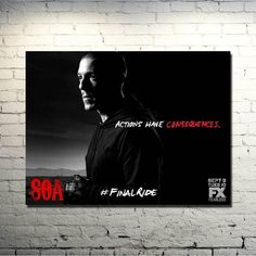 JUICE SONS OF ANARCHY Art Silk Poster     Print 13x18 inch Jax Teller TV Series Pictures for Home Wall Decor 02-032