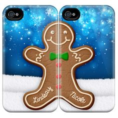 Gingerbread Man iPhone Best Friends Case // MGRAMCASES