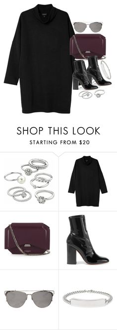 """""""Untitled #2014"""" by sophiasstyle ❤ liked on Polyvore featuring Candie's, Monki, Givenchy, Valentino and Maison Margiela"""