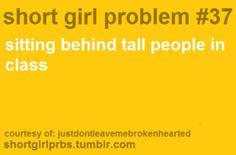 Short girl prob