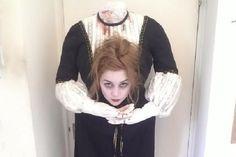Tra i costumi di Halloween fai da te ecco come realizzare il travestimento da decapitata!