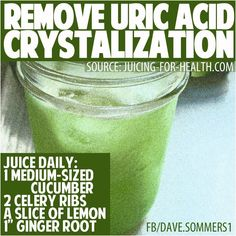 How to Remove Uric Acid Crystalization in Joints (Gout and Joint pain) | fitlife.tv - http://fitlife.tv/how-to-remove-uric-acid-crystalization-in-joints-gout-and-joint-pain/