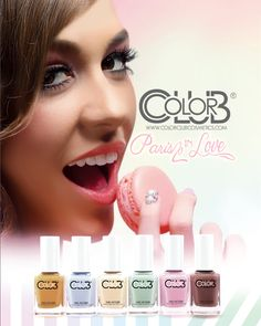 Color Club Paris In Love Collection!  #colorclub #nails
