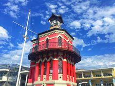 Clock Tower - an der Victoria & Alfred Waterfront in Cape Town #ClockTower #Kapstadt #V&AWaterfront #Südafrika #traveljunkies