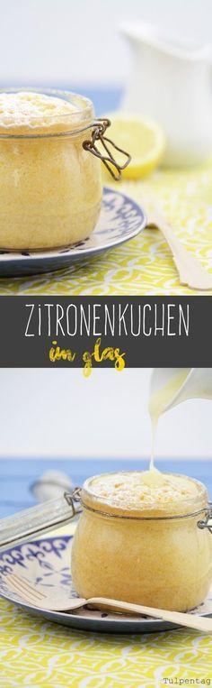 Tulpentag: Zitronenkuchen im Glas