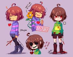 """alexysgh: """" I colored this little cuties ♥ =) 