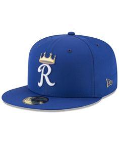 Boys  Kansas City Royals Batting Practice Prolight 59FIFTY FITTED Cap fc0530024a3b