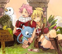 """• Nalu week : Ribbon """" the thread of destiny~ """" —————————————————————————————- I had this idea a while ago but I though it fits well with Nalu prompt 2014 ^^ Facebook 