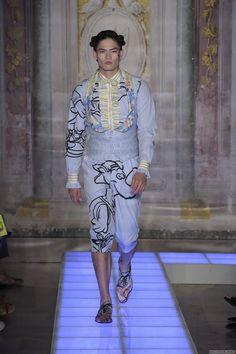 Moschino Spring Summer Primavera Verano #Menswear #Trends #Tendencias #Moda Hombre - 2016 Pitti Uomo - M.F.T.