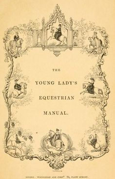 Here it is Brita! The young lady's equestrian manual