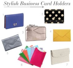 Stylish Business Card Holders