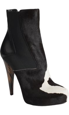 I'm swooning over this Fendi Ponyhair Wuthering Heights Ankle Boot