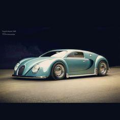 spectacular 1945 inspired Bugatti