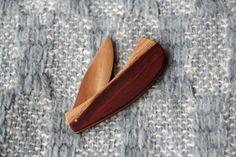 exotic hardwood knife/ letter opener