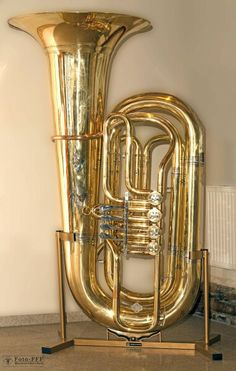 Tuba with a Music Stand