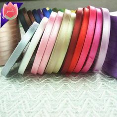 SATIN EDGE ORGANZA RIBBON WEDDING BIRTHDAY PARTY CRAFT 24 SHADES 3 LENGTHS