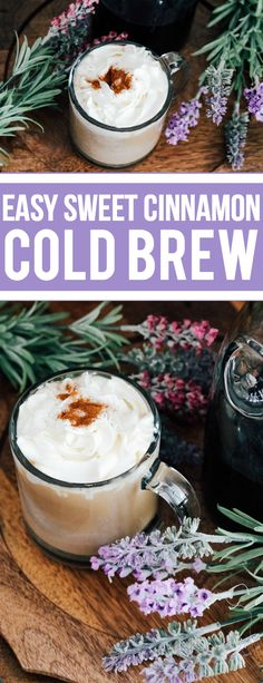 Easy Sweet Cinnamon Coconut Cold Brew from @KendallRayburn #sponsored bit.ly/2qFOiOh
