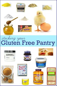How To Stock Your Gluten Free Pantry for Baking.