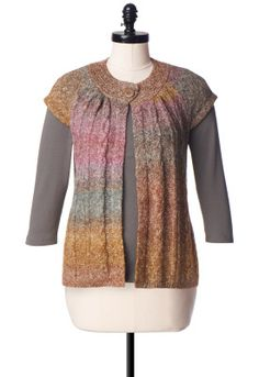 One Button Cable Cardigan - Cardigans - Christopher & Banks