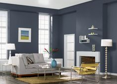 This is the project I created on Behr.com. I used these colors: STARLESS NIGHT(PPU14-20),OZONE(PPU13-14),LOST ATLANTIS(580F-6),ASH WHITE(W-F-520),