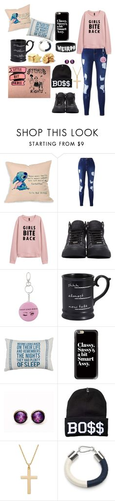"""Untitled #2"" by i-need-coffee ❤ liked on Polyvore featuring Disney, Jimmy Choo, Miss Selfridge, Pier 1 Imports, Hot Topic, Casetify and Eleanor Bolton"