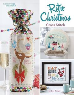 Retro Christmas - Cross Stitch Pattern