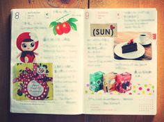 ほぼ日手帳 hobonichi 2014年2月