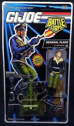 General Flagg (v2) G.I. Joe Action Figure - YoJoe Archive