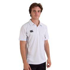 Show details for Canterbury Mens Side Panelled Polo