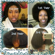 "27 Natural Hair Progression Photos To Inspire Your Hair Journey. When you're starting out on your natural hair journey you may need a little inspiration. Getting the ""big chop"" c… Pelo Natural, Natural Hair Tips, Natural Hair Growth, Natural Hair Journey, Natural Hair Styles, Relaxed Hair Growth, Relaxed Hair Journey, Natural Black Hair Products, Big Chop Natural Hair"